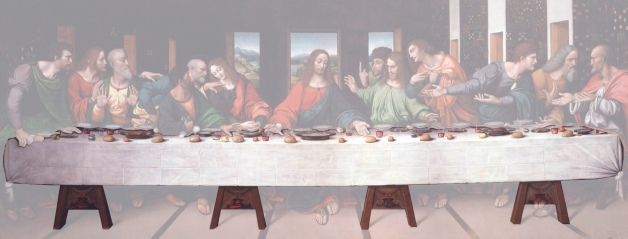 About This Project Last Supper Table