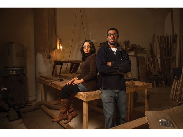 Abir Ali and Andre Sandifer